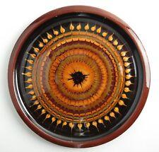 Studio pottery: John Pollex slipware glazed plate