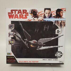 SnapTite Star Wars Kylo Ren's Tie Fighter Revell Model Kit 85-1647 New & Sealed