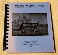Vision of Glory Lutheran Church ALCW Recipe Book Cookbook Plymouth MN 1977 VGC