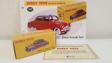 Dinky Toys Atlas - Simca 9 Aronde Taxi Neuve