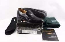 New Calden Mens US 10 Leather Elevator Height Dress Shoes Loafers Black Toto
