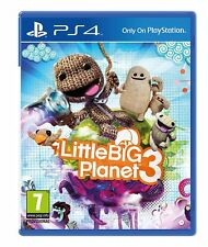VIDEOGIOCO LITTLE BIG PLANET 3 PS4 GIOCO PLAYSTATION 4 ITALIANO LITTLEBIG PAL