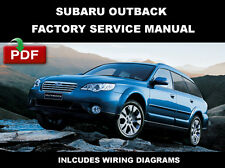 ULTIMATE SUBARU OUTBACK 2005 2006 2007 2008 2009 OEM SERVICE REPAIR SHOP MANUAL