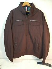 Tommy Hilfiger Jacket Maroon Water and Wind Resistant...