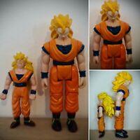 Rare Dragonball Z Goku Super Saiyan Action Figure Bundle vintage retro 1989
