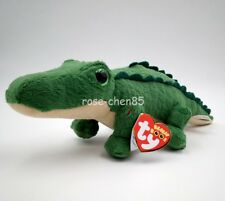 """New Ty Beanie Boos Collection 6"""" Spike the Alligator Plush Stuffed Animals Toy"""