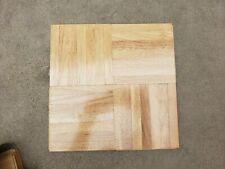 OAK GRAIN.. ONE Tile,,,1 sq ft 12 x 12  X 5/16 Parquet hardwood flooring..