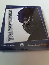 "BLU-RAY ""TRANSFORMERS"" COMBO BLURAY + DVD PRECINTADO SEALED FNAC CON FUNDA CARTO"