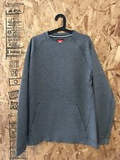 NIKE TECH CREWNECK SWEATER HEATHER GREY SIZE LARGE NEW WITH TAG BO NSW