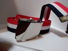 Patriotic Red White & Blue belt  Perfect for Veteran's Day Memorial Day 4th of J