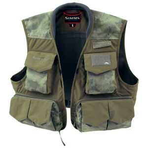 SIMMS Freestone Vest - Color Hex Camo Loden - S M L XL 2XL - ON SALE NOW!