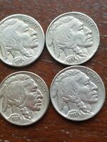 Buffalo nickel roll~1913v1&2 15 23S25S 23/24/26/28/29-37pds MAINLY D/S MINTS