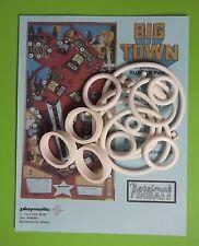 1978 Playmatic Big Town pinball rubber ring kit