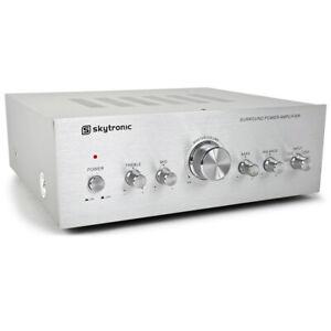 Skytronic 103.311 Home Hifi Stereo Amplifier 100 Watt
