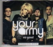 (CR932) Your Army, No Good - 2012 sealed DJ CD