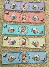 Tea Party Water Bottle Wrappers Vintage Style-Wedding-Favour Decoration