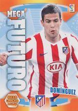N°413 MEGA FUTURO DOMINGUEZ # ATLETICO MADRID CARD PANINI MEGA CRACKS LIGA 2012