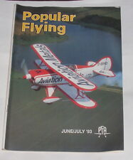 POPULAR FLYING MAGAZINE JUNE/JULY 1993 - HAPPY BIRTHDAY 'CDC'!