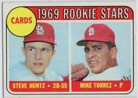 1969 Topps #136 St. Louis Cardinals Rookies NEAR MINT+ MIke Torrez FREE SHIPPING