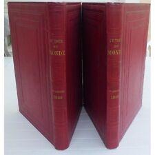 Le TOUR du MONDE par Édouard CHARTON 2 Semestres Illustrés Tirage de Tête 1866