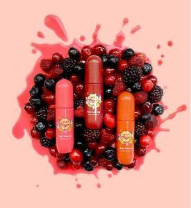 [Chupa Chups] Fruit Juice Lip Vivid & Glossy Tint + Random Body Mist Gift!