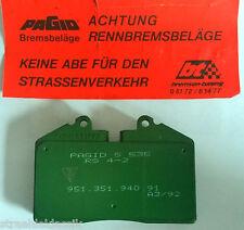 PORSCHE 911 964 CARERRA CUP MOTORSPORT RACING BREMSBELAG PAGID HA 96435193903