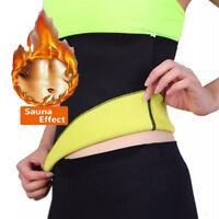 Women's Neoprene Thermo Sweat Waist Cincher Body Shaper Sauna Abdominal Trainer