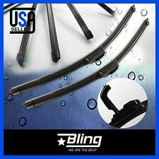 FOR PONTIAC TORRENT 2006-2010 BRACKETLESS WINDSHIELD WIPER BLADES WIPERS