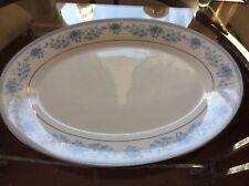 Noritake Blue Hill 2482 Oval Serving Platter VGC