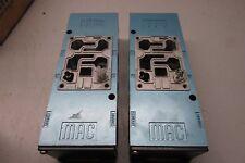 MAC 6311D Pneumatic Valve Base Lot of 2!