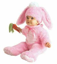 New Pink Rabbit Bunny Halloween Costume Infant 0-6 Months, Soft, 3 Piece