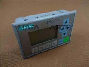 1PCS Siemens LOGO! TD Text Display 6ED1055-4MH00-0BA0 Tested USED