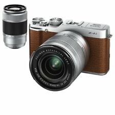 Near Mint! Fujifilm X-A1 with XC 16-50mm and XC 50-230mm Brown - 1 year warranty
