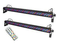 2 x colorrail Chauvet IRC IP Luce LED Da Esterni Lampade 1 M Barra di lavaggio a muro IP65