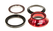 "KTM Team Steuersatz Tapered 1 1/4"" 1 1/8"" Negro 79gramm Rojo IS42/28,6 IS47/33"
