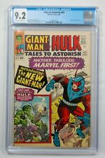 TALES TO ASTONISH  #65 CGC 9.2 OW/W PAGES MARVEL COMICS 3/65