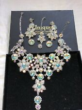 Wedding Parties Neckles Set Silver(goes With All Colours)