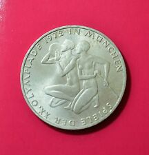 GERMANY - 10 Mark, 1972 J, Munich Olympics, silver coin        [#6903]