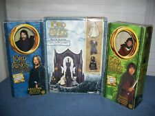 Lord of the Rings Armies of Middle Earth Battle Scenes Aragorn & Frodo Figures