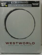 Westworld Season Three: The New World -  4K/BluRay/Digital -  Best Buy Steelbook