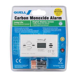 Quell Carbon Monoxide Detector & Alarm  for Caravan or Home with 10 Yr Warranty