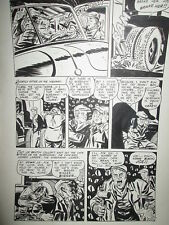 Unseen 13 FLOATING EYEBALLS MIKE ROY ORIGINAL ART! 1953 CAT'S EYES EVIL TRUCKER