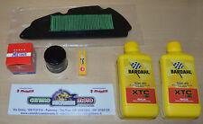 Kit Tagliando Honda SH 300 IE Filtro Aria Olio Candela NGK 2 Litri Bardahl