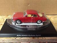 "DIE CAST "" ALFA ROMEO GIULIETTA SPRINT "" 1/43 HACHETTE AUTO ITALIANE"