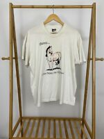 VTG Horse Graphic Paints Color Makes The Difference Single Stitch T-Shirt XL USA
