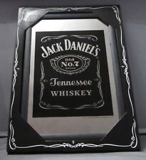 Mirror Jack Daniel's Whiskey Black pub/bar, mancave, home decoration
