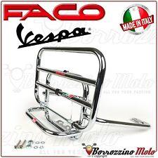 PORTAPACCHI CROMATO POSTERIORE FACO CON RIBALTINA PER VESPA GT 125 200 2005 2006