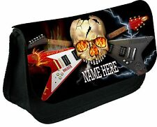 Guitarra De Metal Duro casos de lápiz personalizado