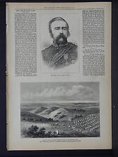 Illustrated London News Full Page B&W S6#125 Feb 1879 The Zulu War: Pearson Camp