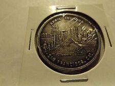 1906 S.F. Earthquake silver plated souvenir coin